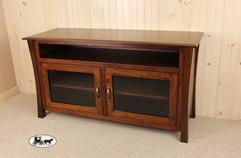 Remarkable Top Cherry TV Stands Intended For Amish Made And Adirondack Style Entertainment Furniture Ny (Image 41 of 50)