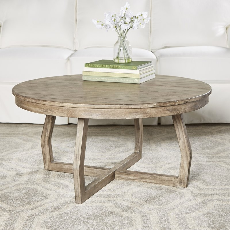 Remarkable Top Circular Coffee Tables Pertaining To Modern Round Coffee Tables Allmodern (View 23 of 40)