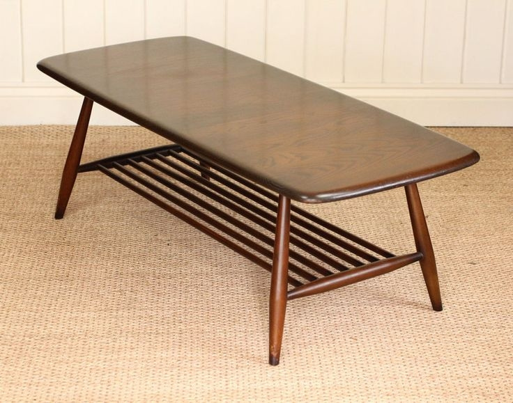 Remarkable Top Coffee Tables With Magazine Rack Regarding Top 25 Best Ercol Coffee Table Ideas On Pinterest Ercol Table (View 31 of 50)