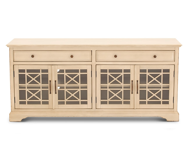Remarkable Top Cream Corner TV Stands With Home Tv Stands Tv Consoles Furniture Row (Image 43 of 50)