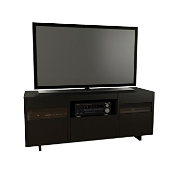 Remarkable Top Nexera TV Stands Regarding Amazon Vision 60 Inch Tv Stand 101406 From Nexera Black (View 46 of 50)