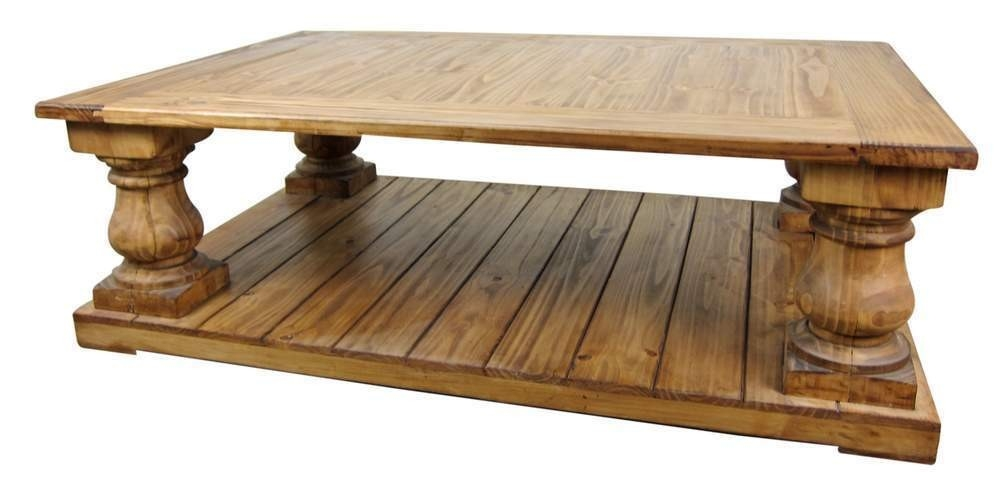 Remarkable Top Round Pine Coffee Tables Throughout Favorite Rustic Pine Coffee Table Ideas (View 8 of 50)