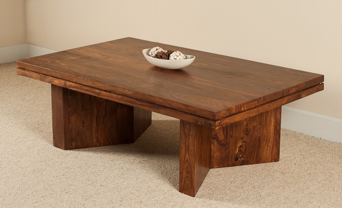 Remarkable Top Sheesham Coffee Tables In Angled Coffee Table Sheesham Wood Stained Honey Colour Casa (View 2 of 50)