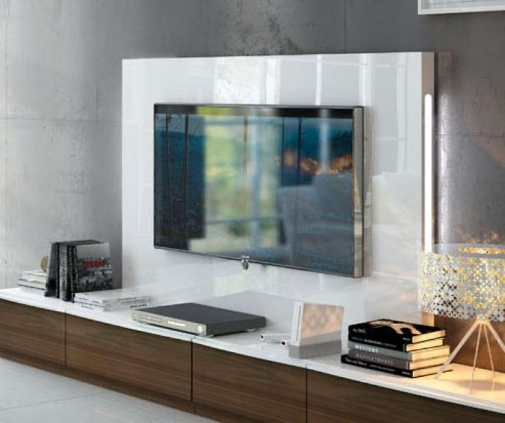 Remarkable Top TV Stands With Back Panel Regarding Extra Image 2 Other Pinterest Tv Units Low Tv Unit And (View 24 of 50)