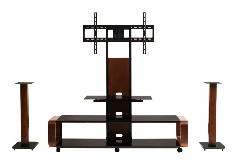 Remarkable Top TV Stands With Mount Throughout Transdeco Tv Stand W Universal Mount 40 45 50 52 55 60 65 70  (Image 40 of 50)