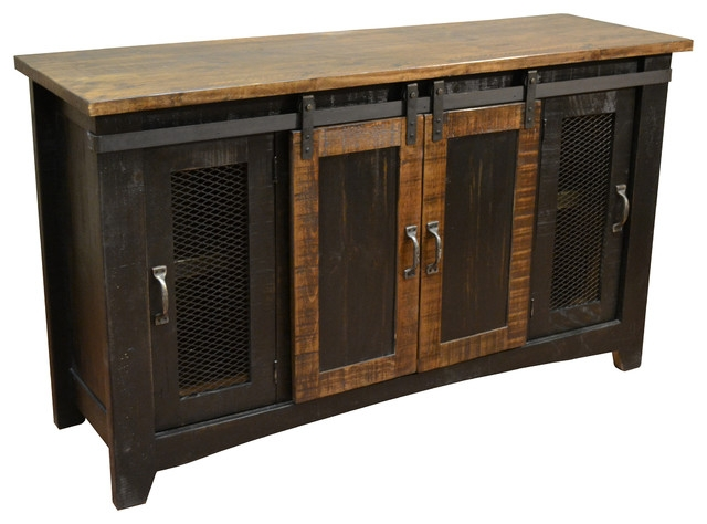 Remarkable Top Vintage TV Stands For Sale Intended For Industrial Storage Furniture Houzz (Image 36 of 50)