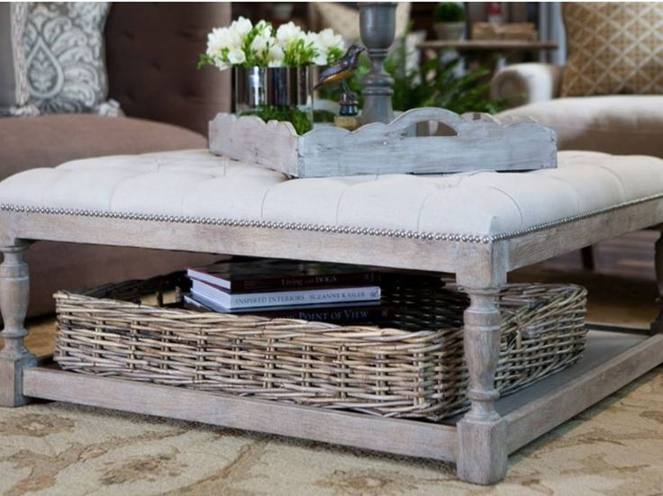 Remarkable Top White Coffee Tables With Baskets Inside Amazing Of Coffee Table With Baskets 22 Well Designed Coffee (Image 30 of 40)