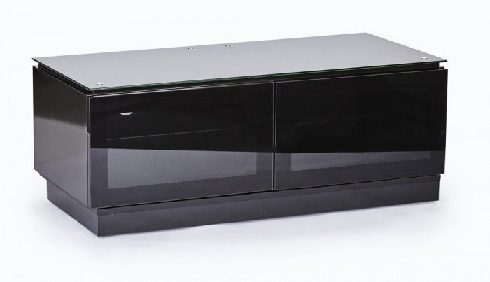 Remarkable Top Wide TV Cabinets In Mmt Diamond D1120 Gloss Black Tv Cabinet 1120mm Wide (Image 37 of 50)
