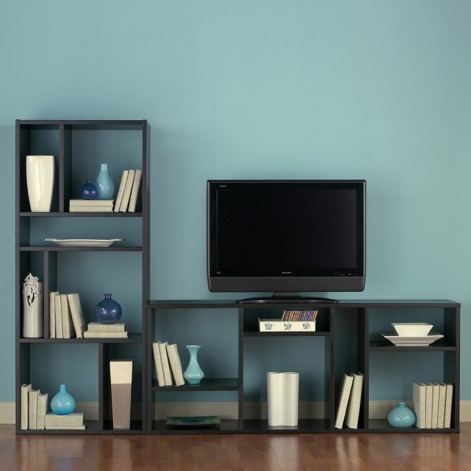 Remarkable Trendy Bookshelf TV Stands Combo For Furniture Home Tv Stands Tv Cabinets Ikea Design Modern 2017 Tv (View 11 of 50)