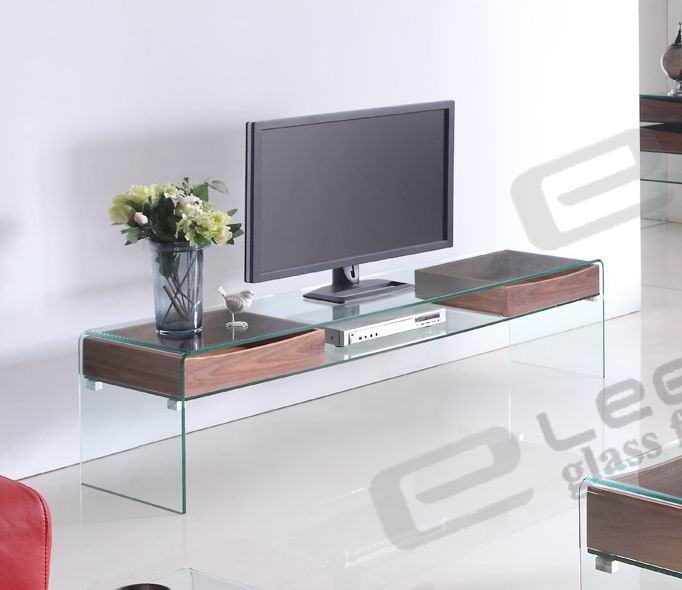 Remarkable Trendy Contemporary Glass TV Stands Throughout Contemporary Glass Tv Stand (Image 36 of 50)