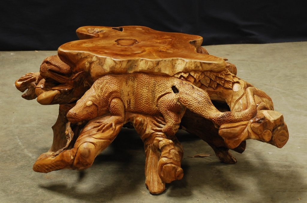 Remarkable Trendy Dragon Coffee Tables Throughout Coffee Tables Artistic Teak Traders (Image 43 of 50)
