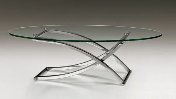 Remarkable Trendy Oval Glass Coffee Tables Within 25 Elegant Oval Coffee Table Designs Made Of Glass And Wood (Image 39 of 50)