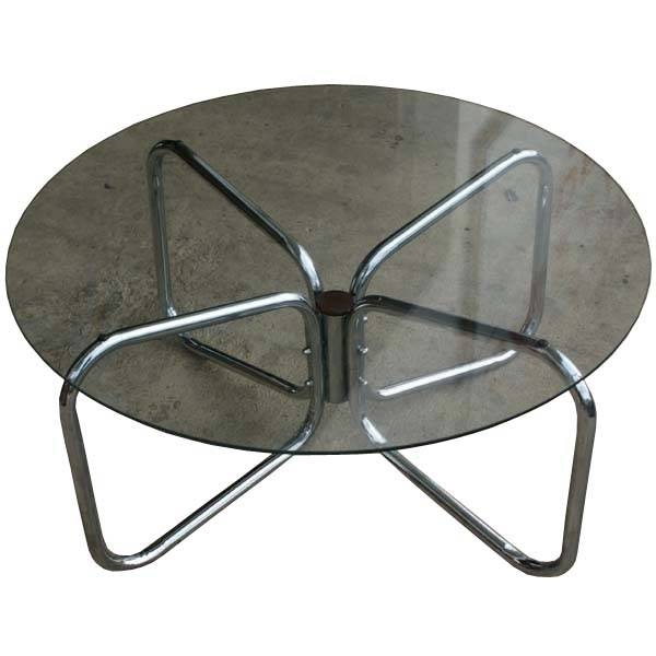 Remarkable Trendy Retro Smoked Glass Coffee Tables With Regard To Midcentury Retro Style Modern Architectural Vintage Furniture From (View 40 of 40)