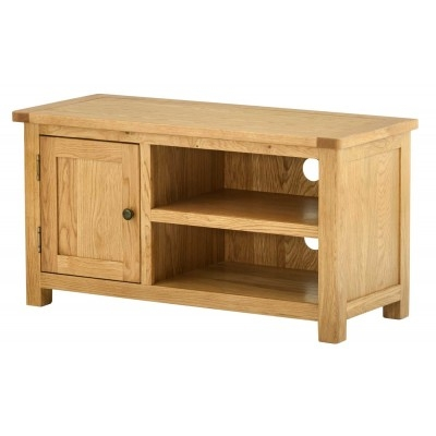 Remarkable Trendy Small Oak TV Cabinets With Regard To Oak Tv Stand Solid Oak Tv Unit Cabinet Furniture Plus (View 17 of 50)