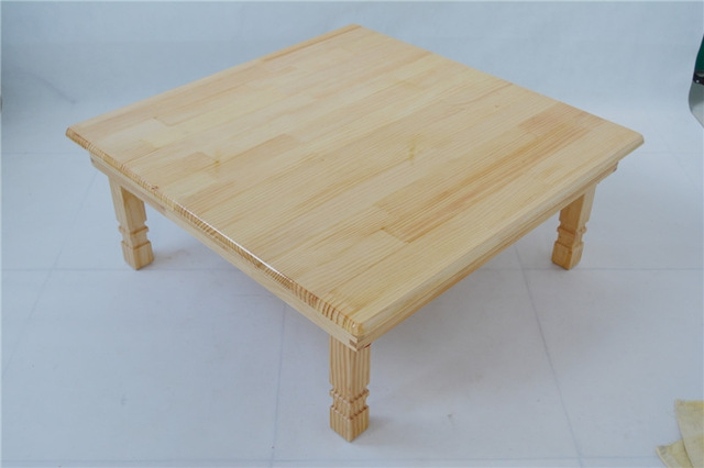 Remarkable Trendy Square Pine Coffee Tables With Aliexpress Buy Solid Pine Wood Folding Table Square 80cm  (Image 43 of 50)