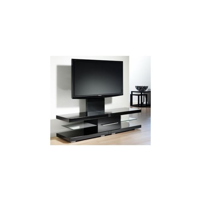 Remarkable Trendy Techlink Echo Ec130tvb TV Stands Regarding Techlink Echo High Gloss Tv Stand With Mounting Bracket In Black (Image 43 of 50)