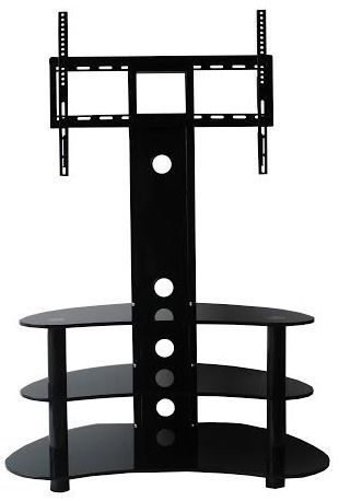 Remarkable Trendy TV Stands For 50 Inch TVs Regarding 50 Inch Tv Stand And Black Glass Tv Stand 32 55 Tvs Goldline (Image 41 of 50)
