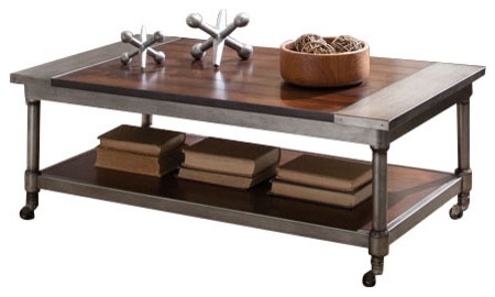 Remarkable Unique Cherry Wood Coffee Table Sets For Standard Furniture Hudson 3 Piece Rectangular Coffee Table Set In (View 27 of 50)