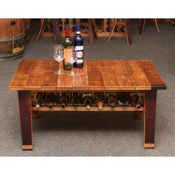 Remarkable Unique Country Coffee Tables In Napa East Collection Wine Country Coffee Table Wayfair (View 32 of 50)