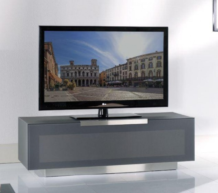 Remarkable Unique Grey TV Stands In Bergamo Bg422 Anm Modern Metallic Grey Tv Stand Made In Italy (Image 41 of 50)