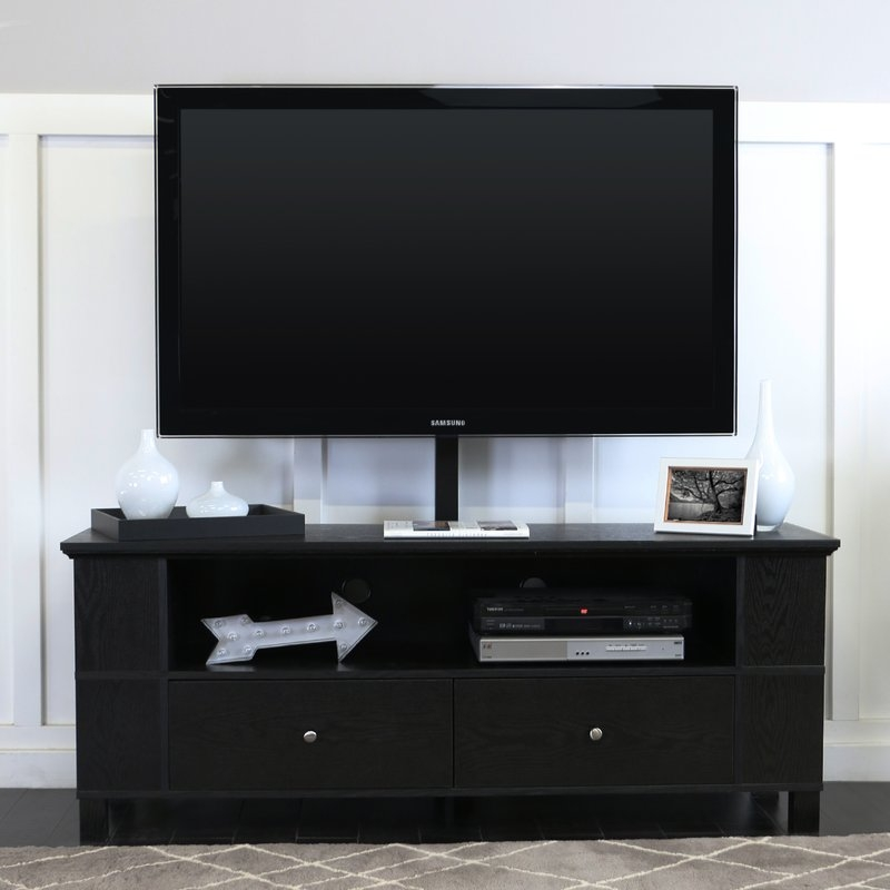 Remarkable Unique Hokku TV Stands With Regard To Hokku Designs Delaware 59 Tv Stand Reviews Wayfair (Image 40 of 50)