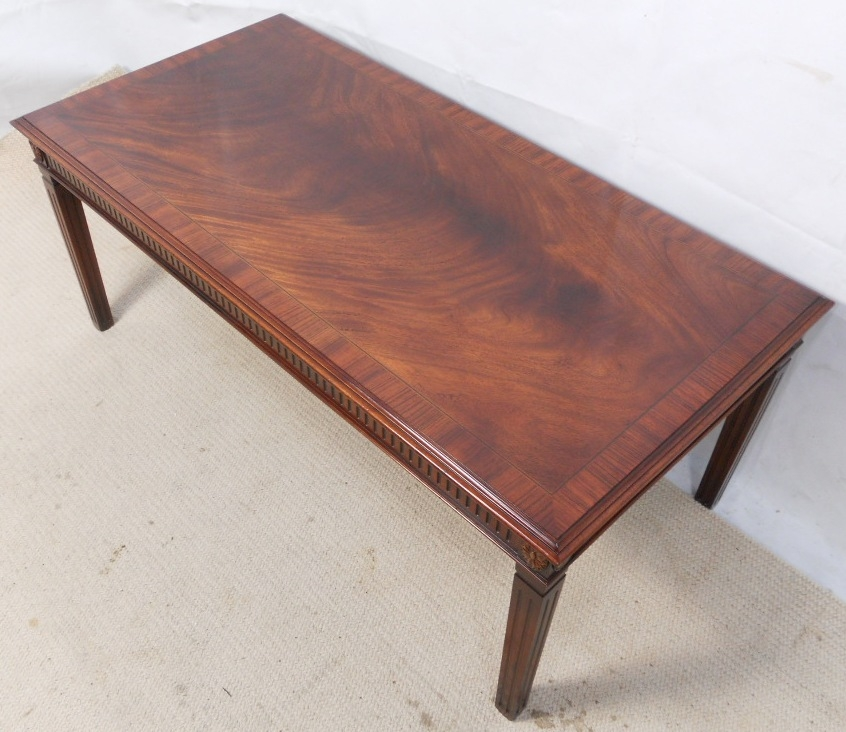 Long Coffee Table Legs: 50 Collection Of Mahogany Coffee Tables
