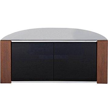 Remarkable Unique Oak Corner TV Cabinets Intended For Sirius 850 Oak And Black Corner Tv Cabinet Amazoncouk Electronics (Image 43 of 50)