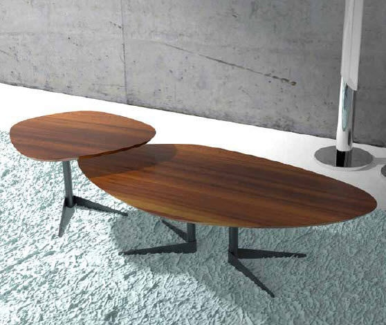 Remarkable Unique Oval Walnut Coffee Tables For Contemporary Coffee Table Walnut Oval Seventy Wood Reflex (Image 42 of 50)