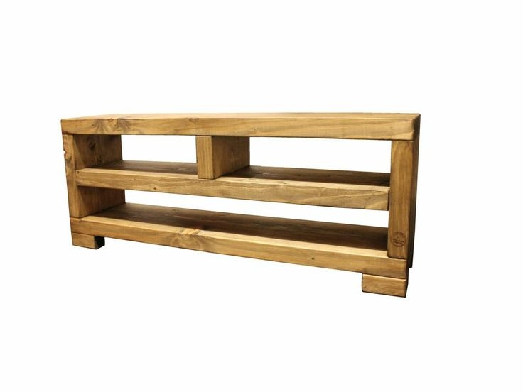 Remarkable Unique Rustic Oak TV Stands Intended For Solid Beam Sound Bar Lcd Widescreen Plasma Tv Stand Unit Rustic (Image 43 of 50)