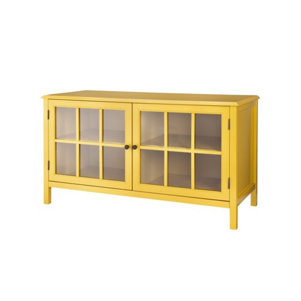 Remarkable Unique Yellow TV Stands With Regard To Windham Media Cabinet Stands Tv Stands Yellow Target Contemporary (View 2 of 50)