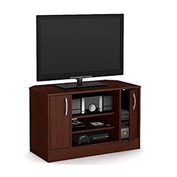 Remarkable Variety Of Corner TV Stands For Flat Screen With Regard To Amazon Corner Tv Stands For Flat Screens Entertainment (View 2 of 50)