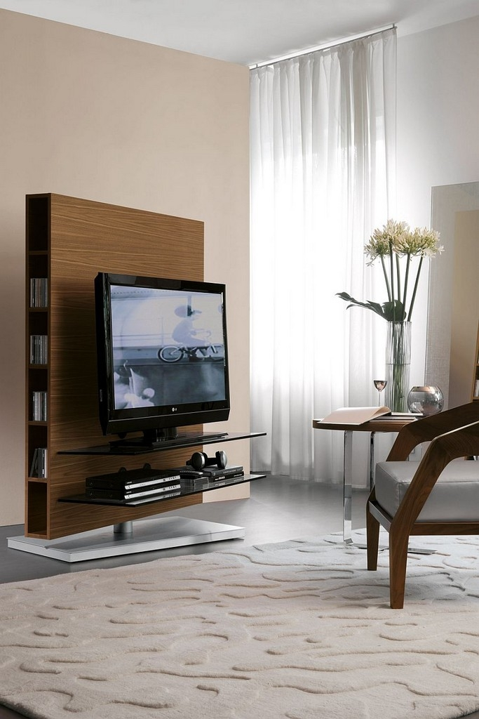 Remarkable Variety Of Flat Screen TV Stands Corner Units With Flat Screen Tv Stands For Small Spaces Tv Stands Entertainment (Image 40 of 50)
