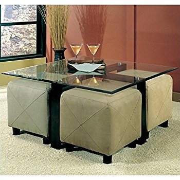 Remarkable Variety Of Glass And Black Metal Coffee Table Intended For Amazon Coffee Table With Beveled Glass Top And Black Metal (Image 38 of 50)