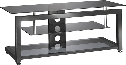 Remarkable Variety Of Glass Corner TV Stands For Flat Screen TVs With Regard To Insignia Tv Stand For Most Flat Panel Tvs Up To 55 Black Ns C (Image 42 of 50)