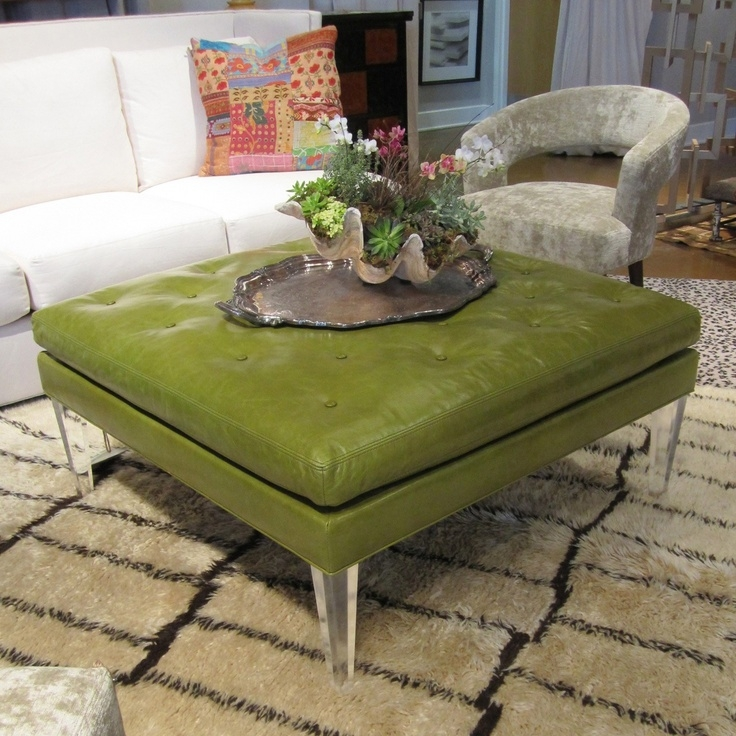 Remarkable Variety Of Green Ottoman Coffee Tables In 46 Best Ottomans Coffee Tables Images On Pinterest Ottomans (Image 41 of 50)