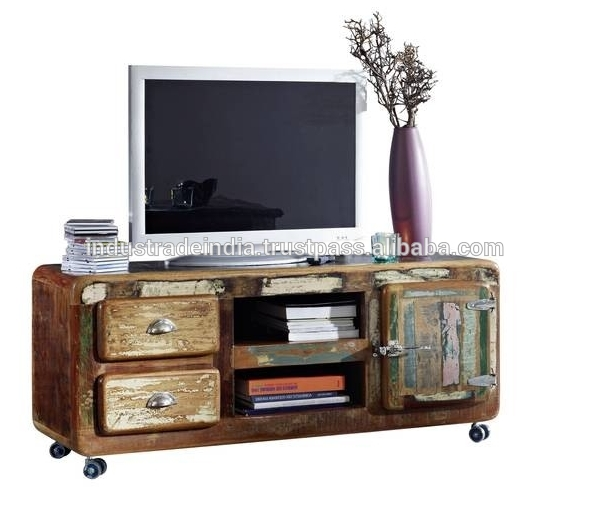 Remarkable Variety Of Industrial TV Cabinets In Reclaimed Wood Tv Stand Reclaimed Wood Tv Stand Suppliers And (Image 43 of 50)