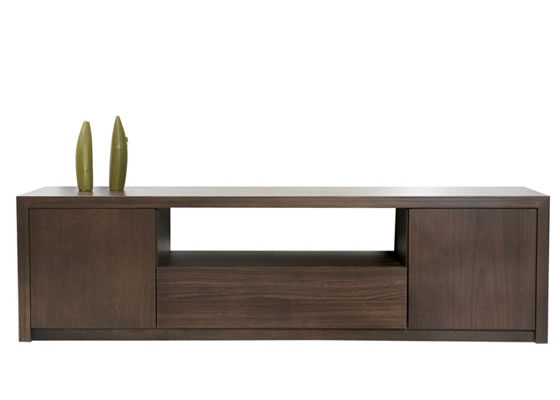 Remarkable Variety Of Long Wood TV Stands Intended For The Bachelors Pad Homewoodscreation (Image 42 of 50)