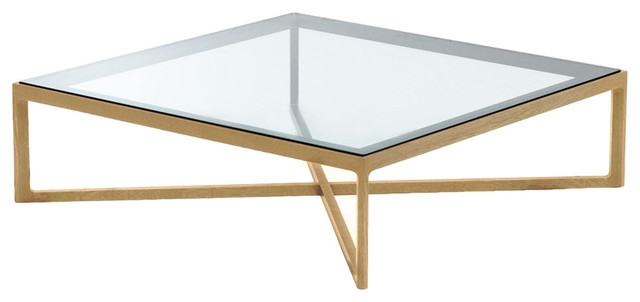 Remarkable Variety Of Oak And Glass Coffee Tables Regarding Coffee Table Glass (View 14 of 50)