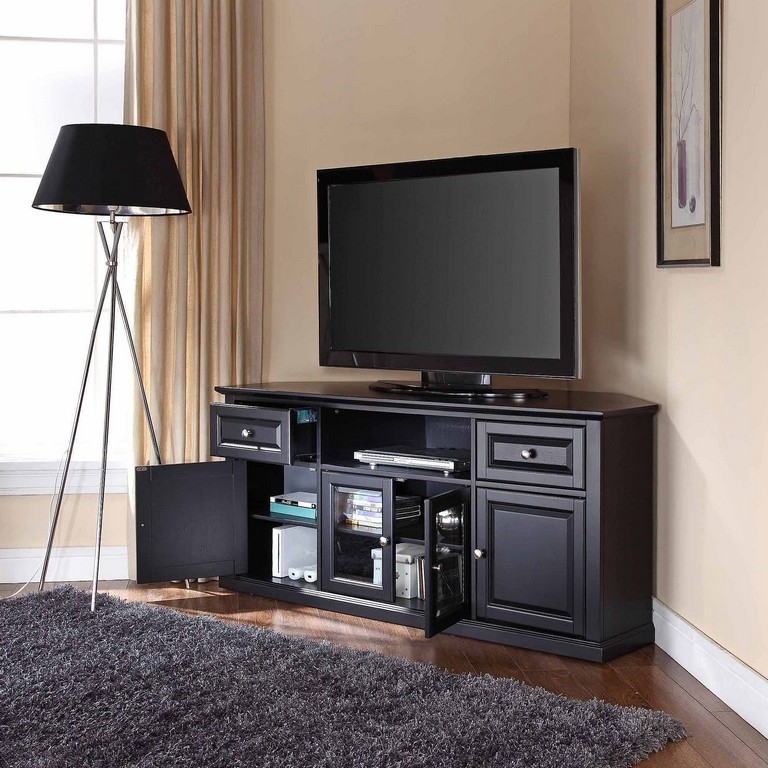 Remarkable Variety Of Oak Effect Corner TV Stands Inside Ba Safe Tv Stand (Image 40 of 50)