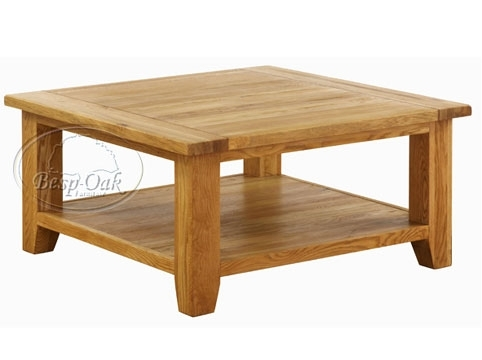 Remarkable Variety Of Oversized Square Coffee Tables With Regard To Living Room The Most Square Coffee Tables Bassett In Table Wood (Image 42 of 50)