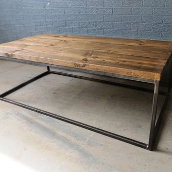Remarkable Variety Of Reclaimed Wood And Metal TV Stands With Regard To Best Reclaimed Wood Table Products On Wanelo (Image 40 of 50)