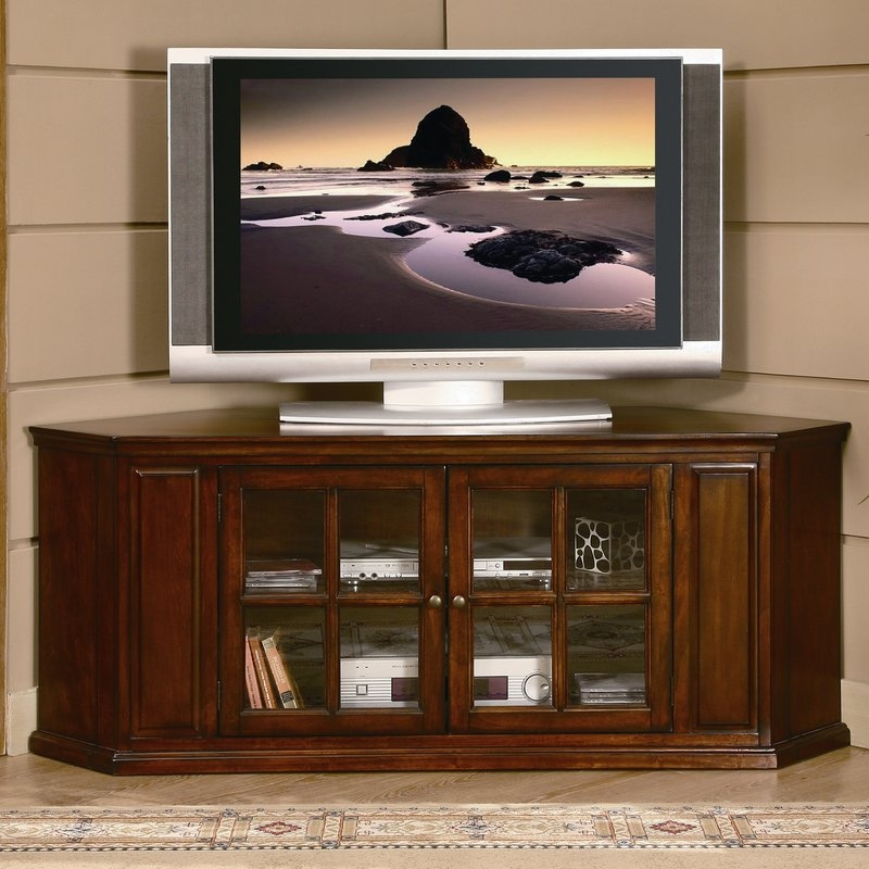 Remarkable Variety Of Wayfair Corner TV Stands In Woodhaven Hill Hayden Corner 62 Tv Stand Reviews Wayfair (View 8 of 50)