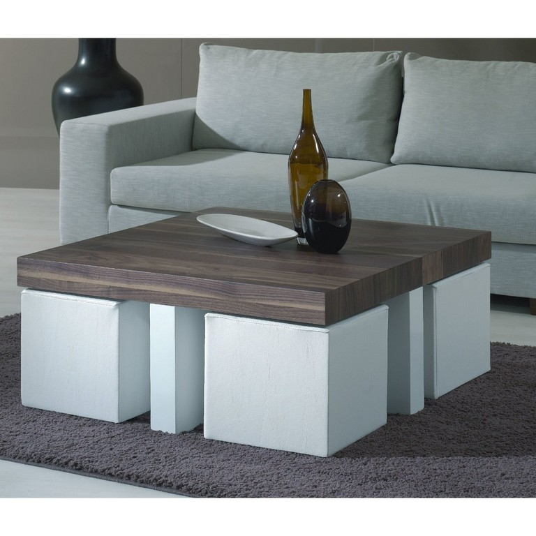 Remarkable Wellknown Coffee Tables With Nesting Stools Inside Living Room The Most Furniture Black Coffee Table With Stools (View 5 of 50)