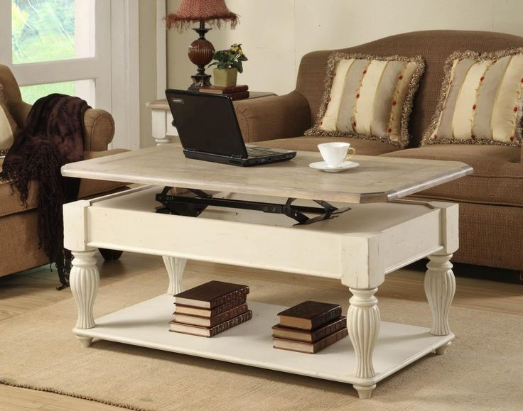 Remarkable Wellknown Coffee Tables With Raisable Top For Best 25 Adjustable Height Coffee Table Ideas Only On Pinterest (View 41 of 50)