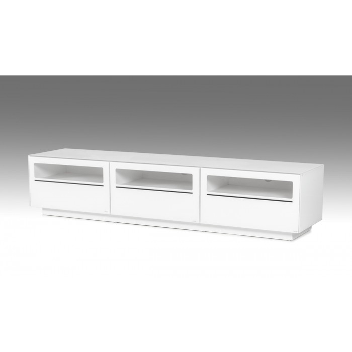 Remarkable Well Known Contemporary White TV Stands For Modrest Landon Contemporary White Tv Stand (View 40 of 50)