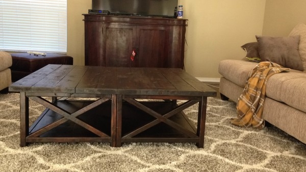 Remarkable Wellknown Extra Large Rustic Coffee Tables Throughout Coffee Table Stunning Oversized Coffee Tables In Your Living Room (View 3 of 50)