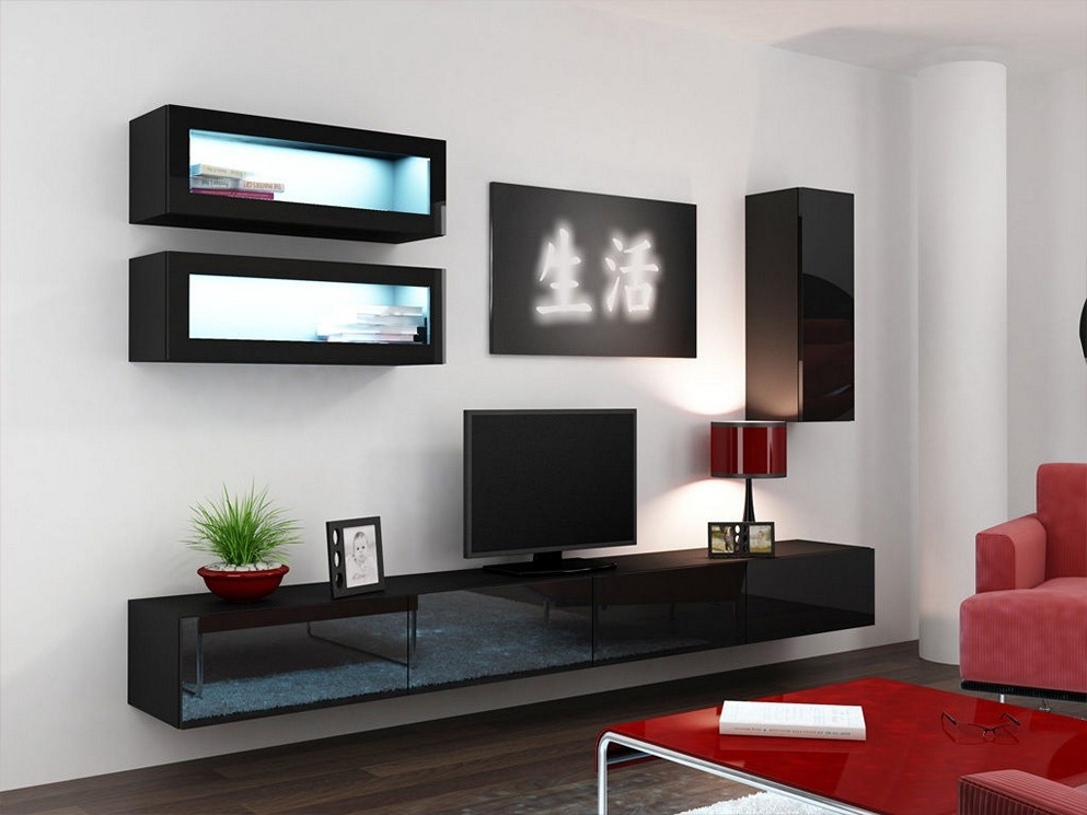 Remarkable Wellknown Floating Glass TV Stands Intended For Diy Tv Stand Endless Choices For Your Room Interior (Image 41 of 50)