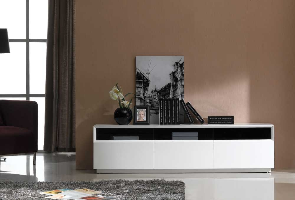 Remarkable Well Known Gloss White TV Stands With Regard To Tv023 White High Gloss Tv Stand J M Furniture In Tv Stands (Image 42 of 50)