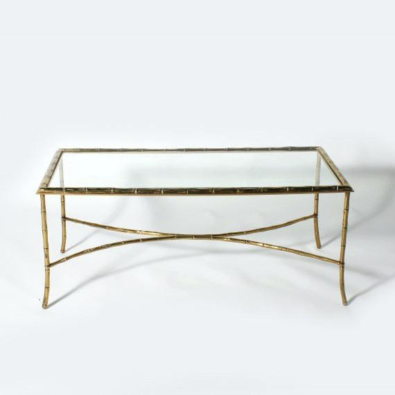 Remarkable Well Known Gold Bamboo Coffee Tables With Gold Bamboo Coffee Table Gold Bamboo Glass Coffee Table Hollywood (View 40 of 50)