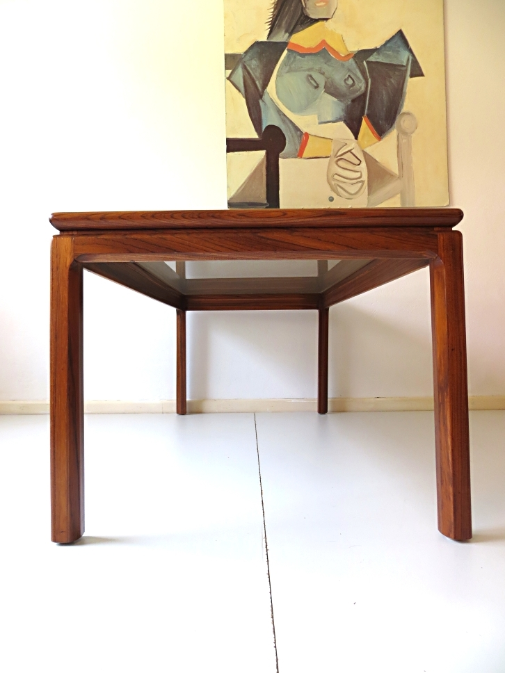Remarkable Wellknown Long Coffee Tables For Long Danish Rosewood Coffee Table For Sale At Pamono (View 47 of 50)